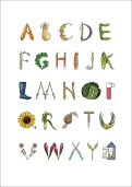 Allotment alphabet copy
